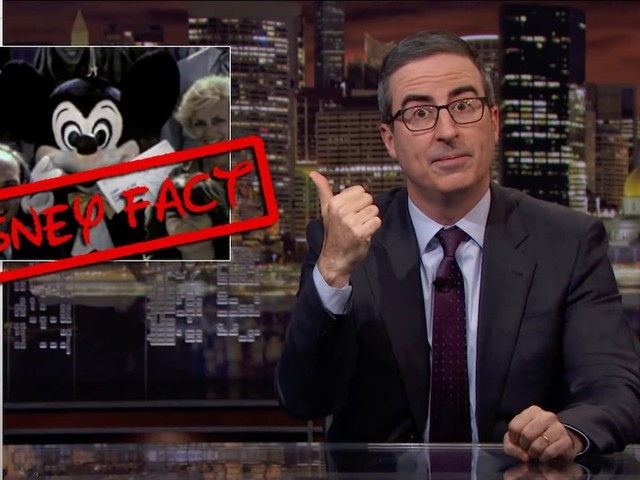Hotstar Censors Disney Jokes in Last Week Tonight with John Oliver