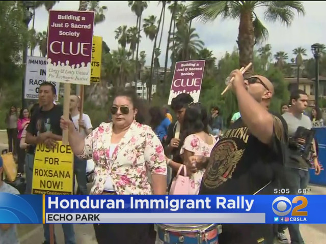 Hondurans Rally Against Trump For Ending Policy That Will Kick Them Out Of US