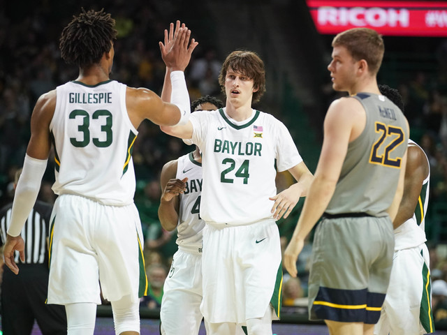 Baylor keeps hold of No. 1 spot in USA TODAY men's basketball poll