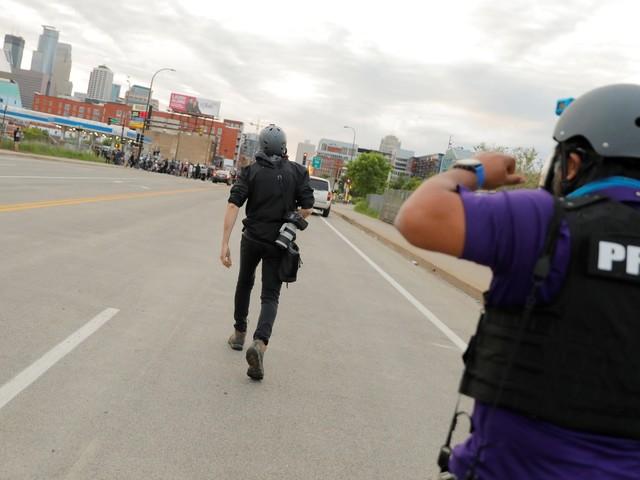 LA journalists endure police violence during George Floyd protests