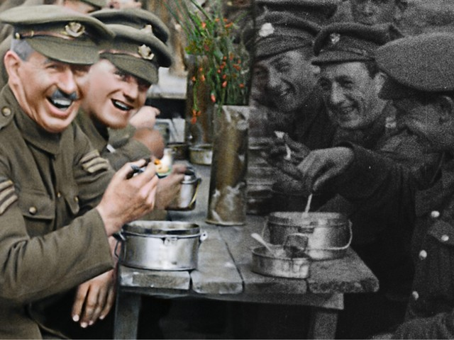 Revisiting Peter Jackson on giving old WWI footage new life