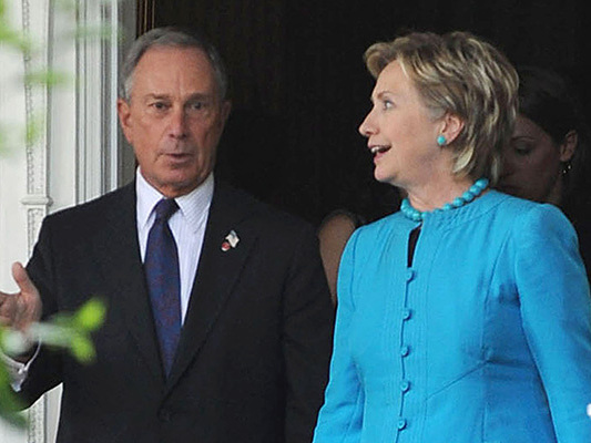 Bloomberg Campaign Shuts Down Report He's Considering Hillary Clinton As Running Mate