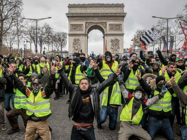 One year on, what has France's yellow vest movement achieved?