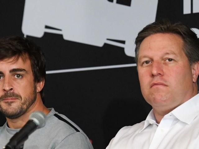 McLaren boss: 'We're years away from fielding IndyCar team'