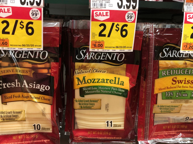 Sargento Reserve Series Sliced or Shredded Cheese as low as $0.75 at Stop & Shop & Giant {Rebate}
