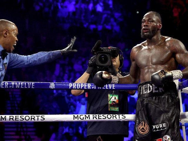 Wilder: I wish my corner would've let me go out on my shield