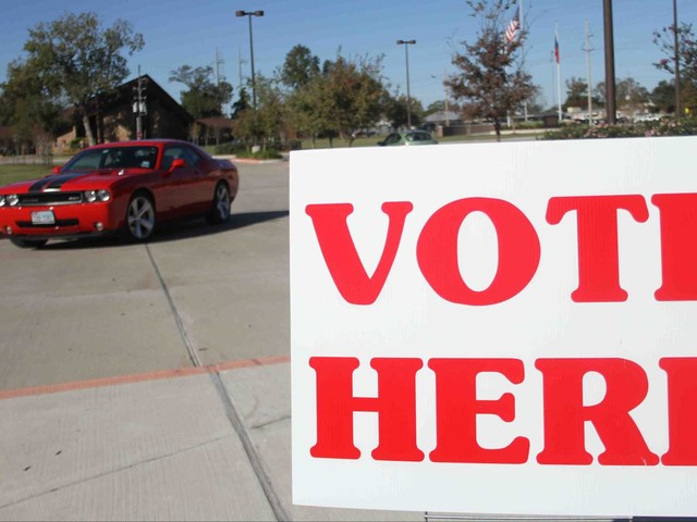 Early voting in Texas underway