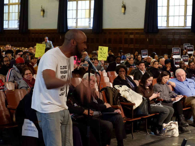Low blow: Pols, activists slam city for borough-based jail plan due to high number of inmates
