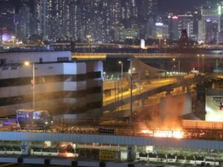 The Latest: Hong Kong police launch move on protesters