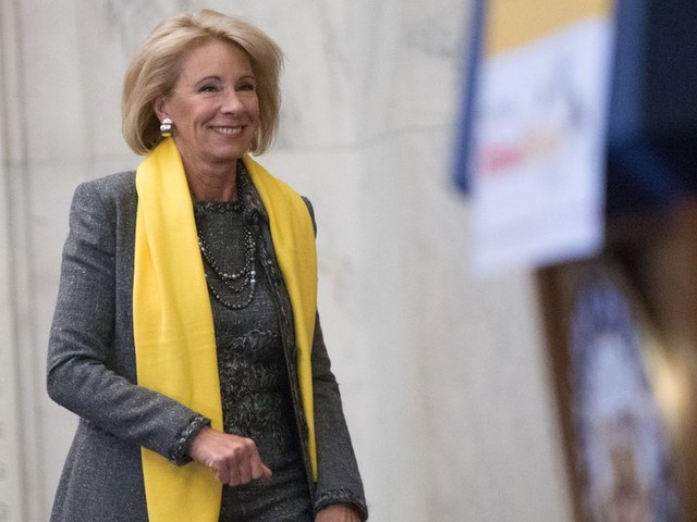 In Her Words: Education Secretary Betsy DeVos Assesses a Year on the Job
