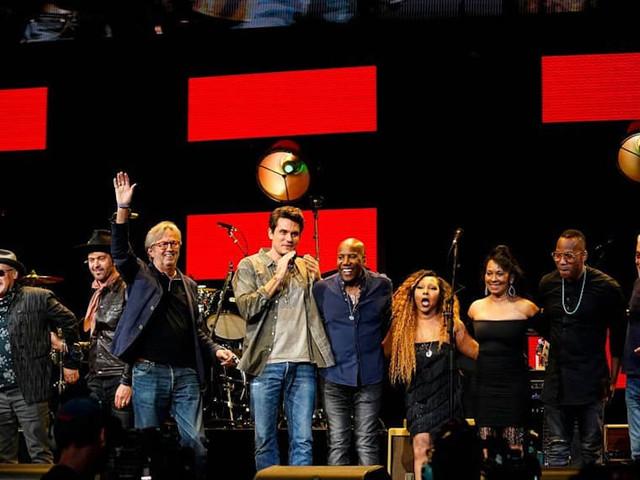 Eric Clapton Welcomes John Mayer & Doyle Bramhall II At Crossroads