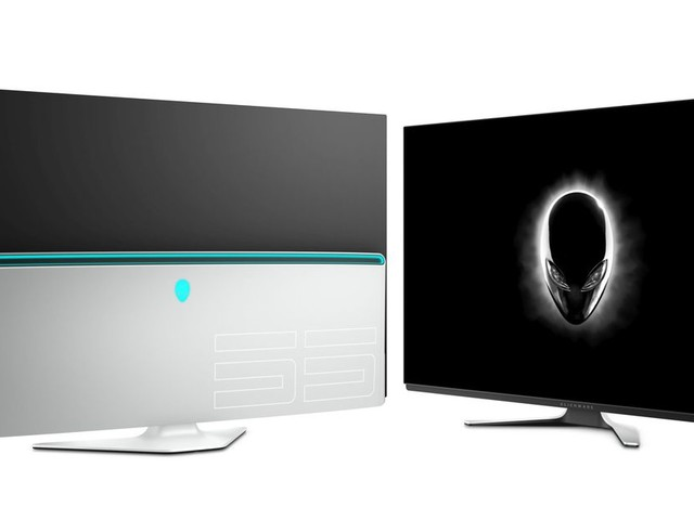 Alienware's new 55-inch OLED monitor is a step closer to the perfect gaming TV