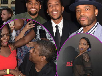 Before Denzel Washington Returns As A Kick A** Lyft Driver, He Hit Up The 'Equalizer' Premiere With Larenz Tate, Michael Ealy, Tichina Arnold & More