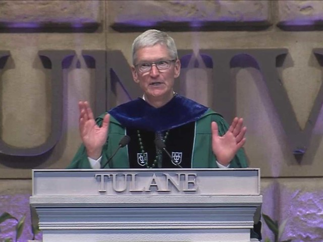 Tim Cook: 'My generation has failed' on climate change