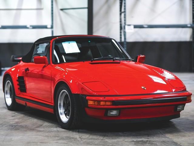 1987 Porsche 911--Turbo--Cabriolet