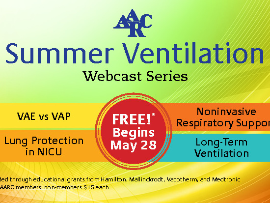 New Ventilation Webcast Series Kicks Off
