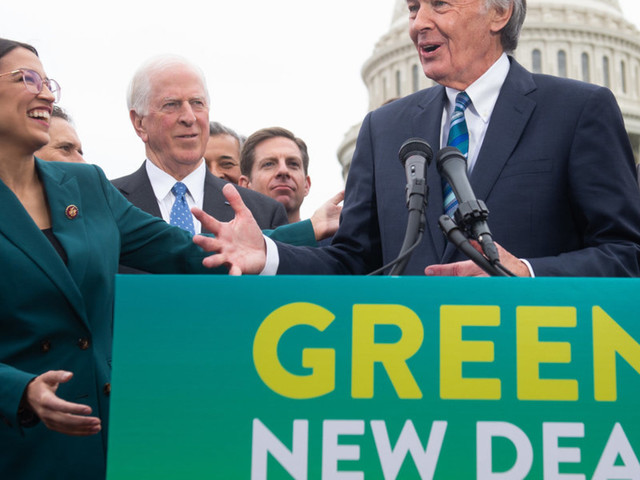 Green New Deal co-author calls it a 'Republican trick' to hold a vote on his bill