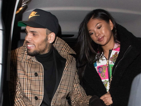 Chris Brown's Lover Ammika Harris Shows Off Her Bigger-Looking Lips Amid Pregnancy Rumors