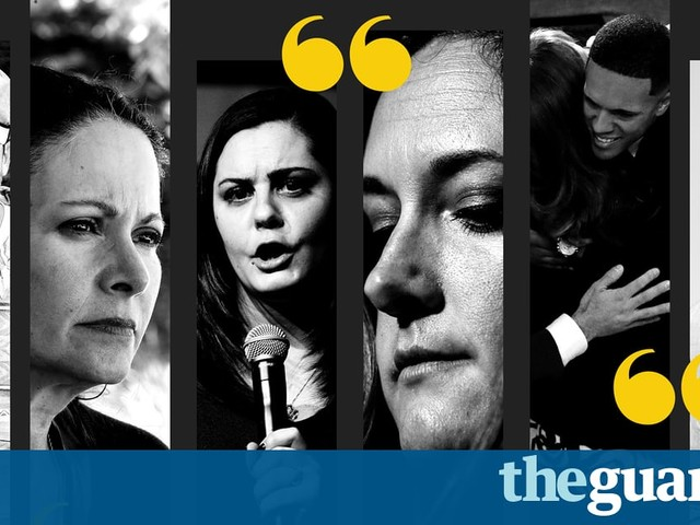Stories of loss, love and hope: six firsthand accounts from some of America's worst mass shootings