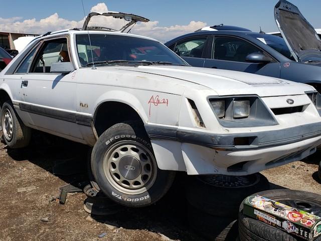 Junkyard Gem: 1985 Ford Mustang GT
