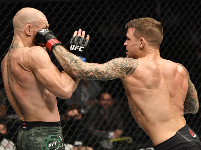 Dustin Poirier Gets Angry At Inappropriate Question From UFC Analyst