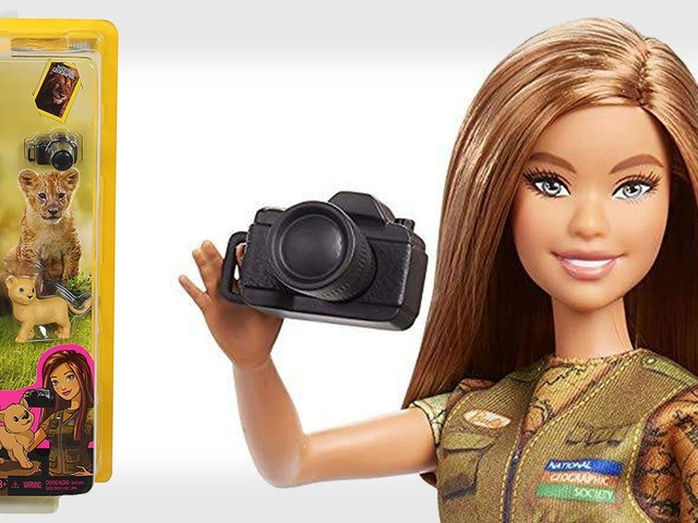 Barbie is Now a Photojournalist for National Geographic