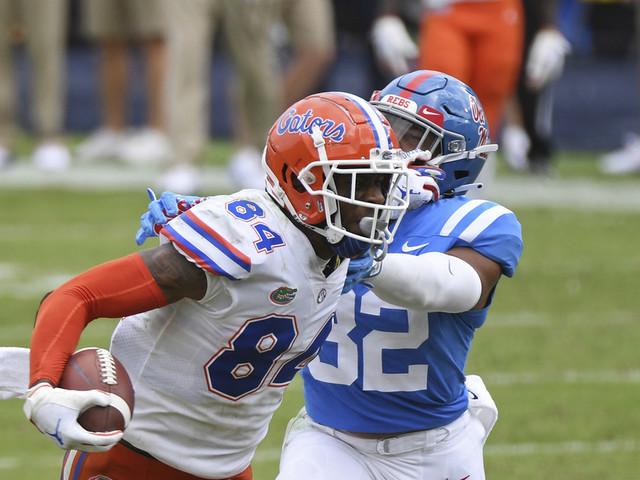 Kyle to Kyle gives No. 3 Florida potent passing combination