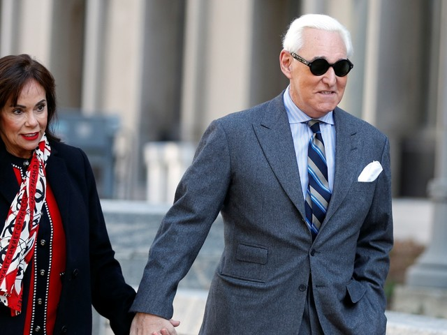 Roger Stone could spend the rest of his life in prison