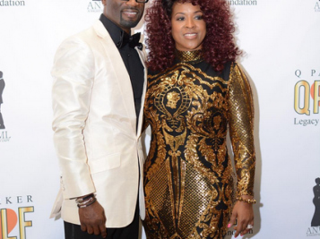 AFTER THE LOVE CHILD - Q Parker & Wife Sharlinda Express Their Love -- Very Publicly -- At Fundraising Anniversary Party
