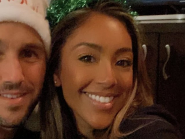 "Tayshia Adams and Zac Clark Spend Their First Christmas Together: ""My Heart Is So Full!"""