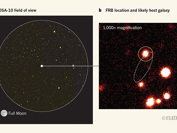 X marks the spot for fast radio bursts