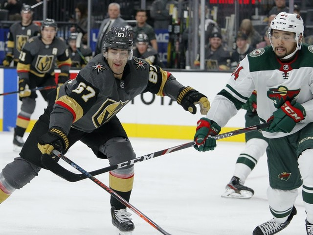 Wild, Golden Knights face off with first place up for grabs