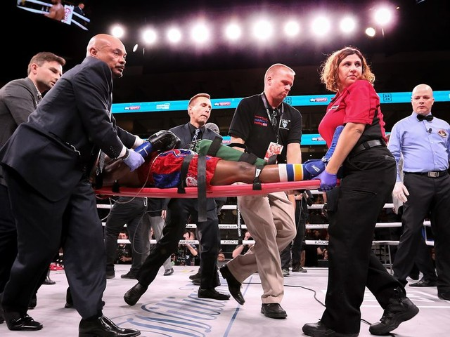 Dr. Gelber, physician and author, on deaths in combat sports