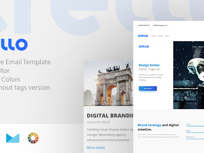 crello - Responsive Email + StampReady Builder (Email Templates)
