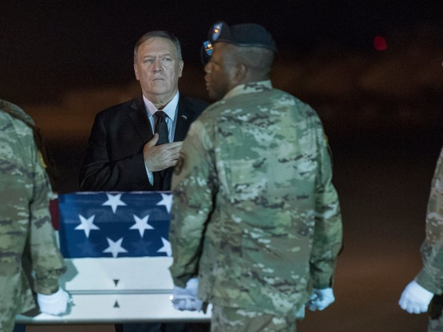 Pompeo leaves Taliban talks on the table, saying the group needs to 'change their behavior'