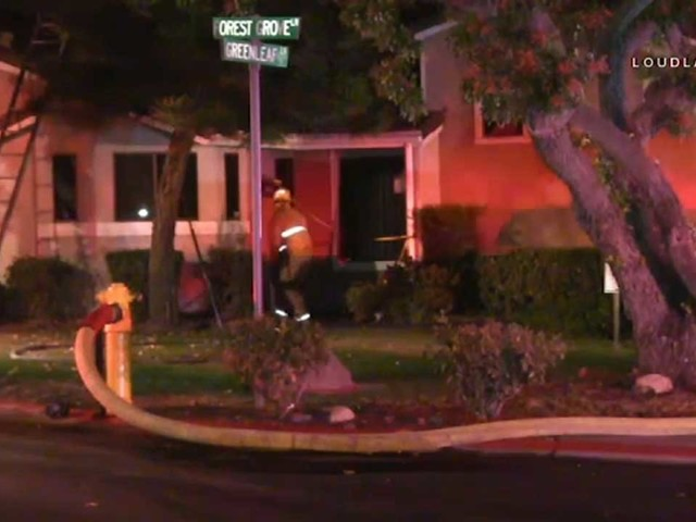 Firefighters discover man's body while battling fire inside Rancho Cucamonga home