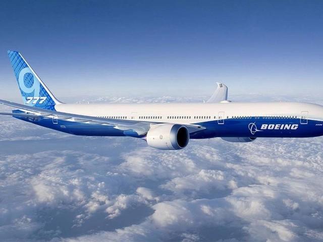 Boeing unveils its brand new 777X airplane