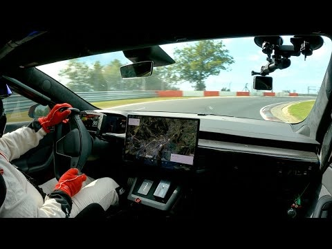 See it: Tesla Model S Plaid claims electric car lap record at benchmark track