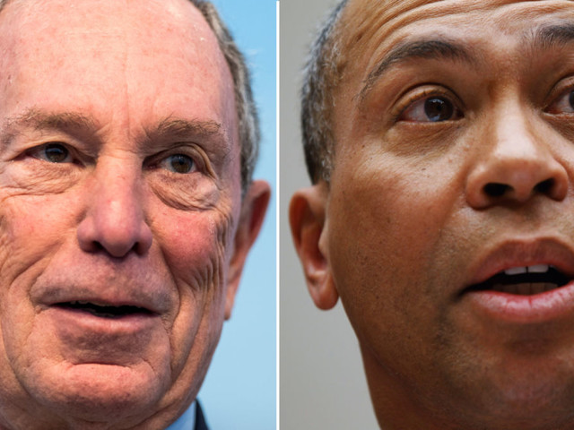 Where Do Deval Patrick and Michael Bloomberg Stand On Major 2020 Issues?