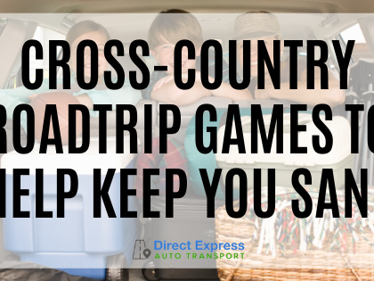 Cross-Country Road Trip Games to Help Keep You (and Your Family) Sane
