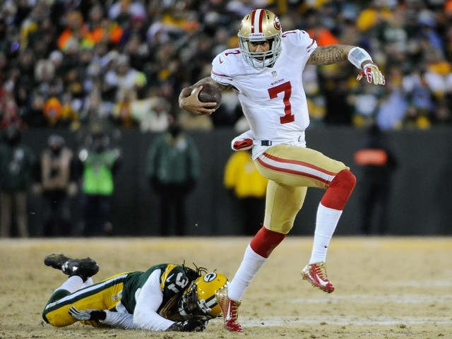 San Francisco 49ers regret leaving Colin Kaepernick out of photo tribute to Packers rivalry