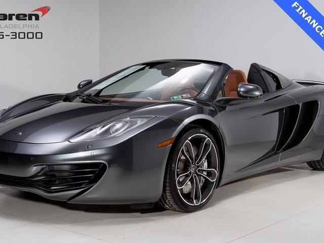 2014 McLaren 12C--Spider