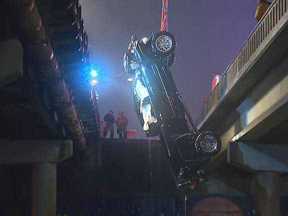 Bodies Of 2 Recovered After Truck Crashes Off Bridge Into Trinity River In Fort Worth