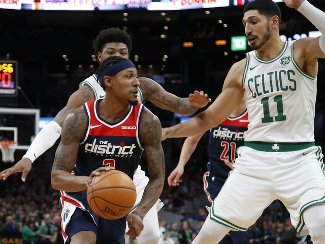 Wizards' defensive issues resurface in road loss to streaking Celtics