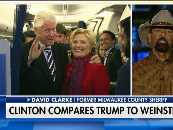 Hillary's Weinstein Response Ethics Elevator No Bottom Floor David Clarke Says