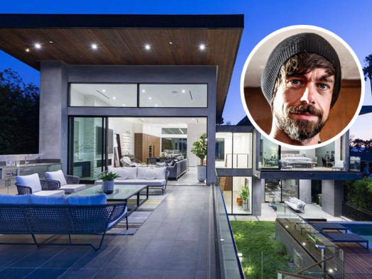 Twitter's Jack Dorsey Lists Hollywood Hills Architectural
