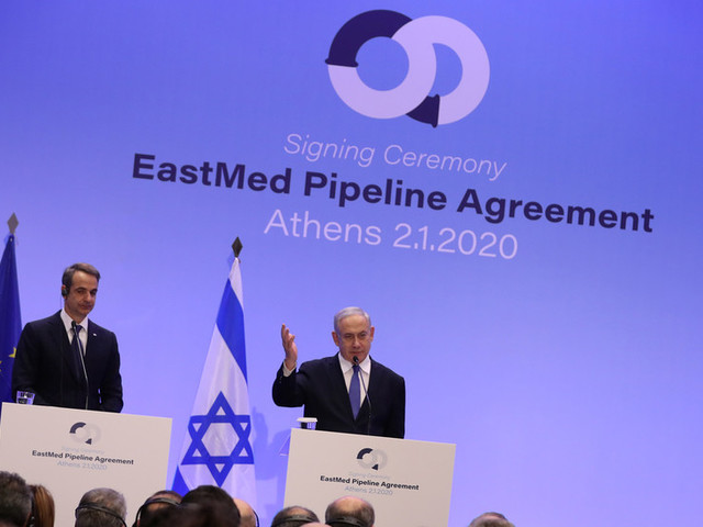 Greece, Israel & Cyprus ink EastMed gas pipeline deal amid Turkish outcry