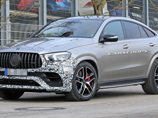 2021 Mercedes-AMG GLE 63 Coupe: New German Brute On Stilts Coming To Scare Porsches