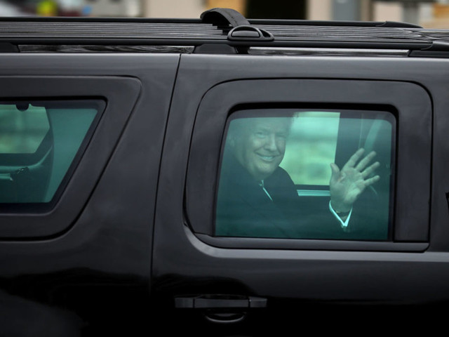Progressives joke and speculate about Trump's health after an unscheduled hospital visit