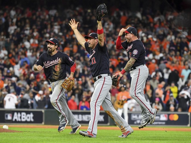 For World Series champion Nats, the team that wouldn't die, there was no doubt, just hope